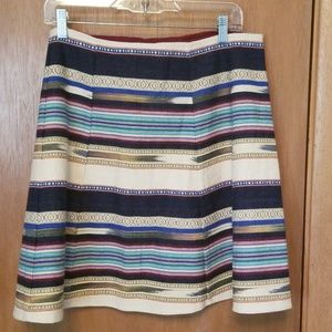 Anthropologie Haley Skater  Skirt sz 12 NWT